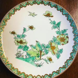 「鎌倉市農業協同組合新築記念」のお皿