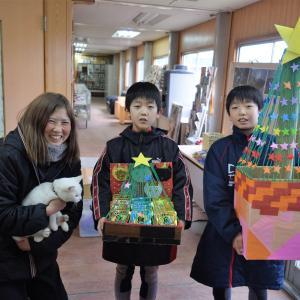 嬉しいクリスマス♩東関東馬事の馬と猫にたくさんのプレゼント!!