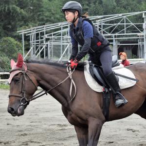 シルバーウィークは馬事学院(バジガク)で乗馬♪&バジガクアリア盛岡競馬4連勝!