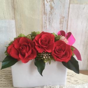 お祝いのお花✿オーダーいただきました