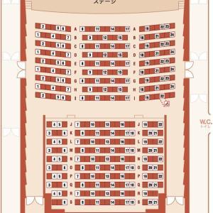 トッパンホールの座席配置