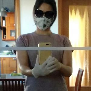 マスク&サングラス:完全装備の理由