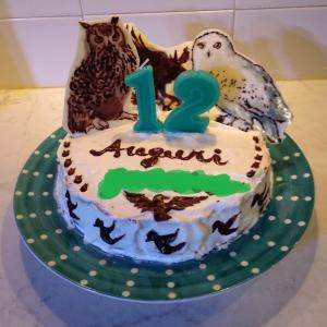 なんとかできた誕生日ケーキ