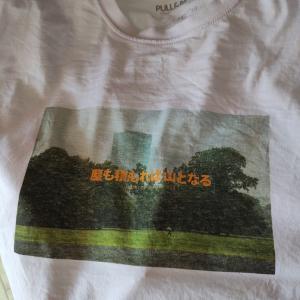 長女が気に入って買ってきたTシャツが・・