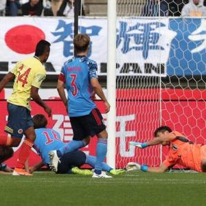 U22日本、コロンビアに2-0で完敗…攻守で連携不足を露呈