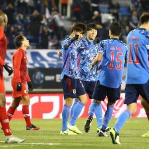 日本、香港に5-0で大勝でE1二連勝!小川ハットトリック、菅&田川も