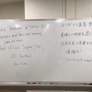 日本と死闘を演じたニュージーランド代表、ロッカールームにメッセージを残し大会を去る「素晴らしい時間だった、日本の幸運を祈る」