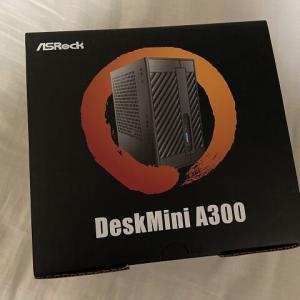 【ASRock】サブPCを作るの巻【DeskMini A300】
