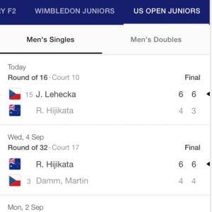 US Open Junior とBinge watching