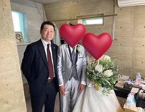 成婚された会員さんの結婚式に行って来ました