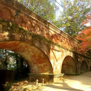 南禅寺・水路閣の紅葉 ② ~秋色に染まる