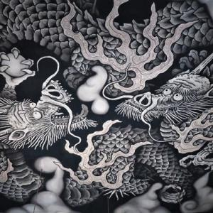 法堂・天井画「双龍図」 ~建仁寺 ③