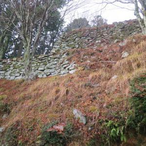 第421回:長水城(山上に聳える石垣,宇野氏の居城)