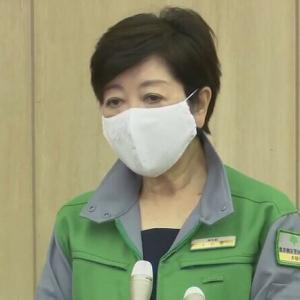 小池百合子さんのマスクでかくない?