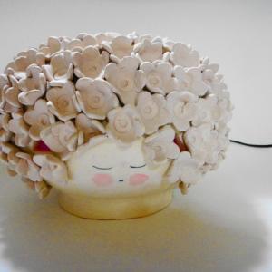 ランプシェード〜花