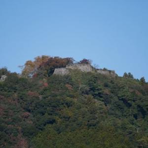 津和野城に大手口から登った。
