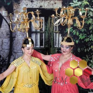 シャマダン&モワシャハットドレス