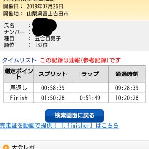富士登山競走 五号目コース
