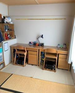 ついに、子ども部屋模様替え。