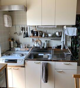 キッチン収納。