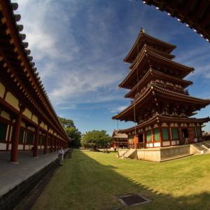 奈良の夏空