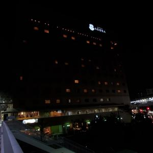 ホテルアゴーラ守口 宿泊記①