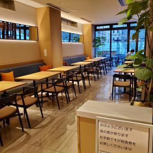 ホテルフォルツァ大阪北浜 宿泊記②