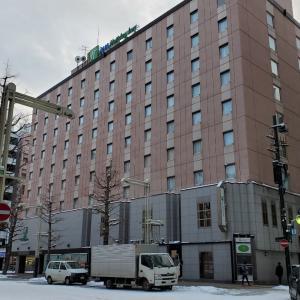 弾丸札幌年末旅④・ANAホリデイイン札幌すすきのに宿泊