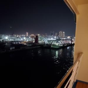 阪九フェリー新造船「せっつ」ロイヤルルーム満喫の旅⑤・夕食