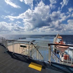 新日本海フェリー「すずらん」で弾丸北海道旅⑥・グリルで昼食