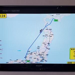 新日本海フェリー「すずらん」で弾丸北海道旅⑦・日本海~津軽海峡航行