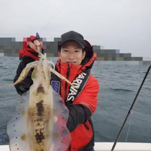 11月24日(日)Eフレンズティップランエギング釣果!