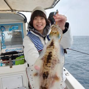 12月24日(火)Eフレンズティップランエギング釣果!