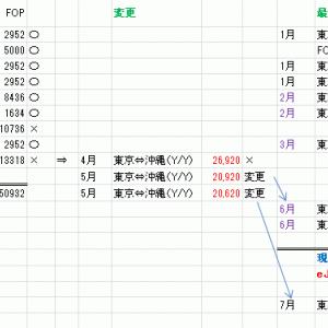 コロナ禍のJAL修行~行程と費用