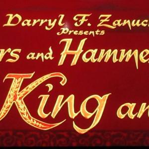 ミュージカル映画『王様と私』を見た