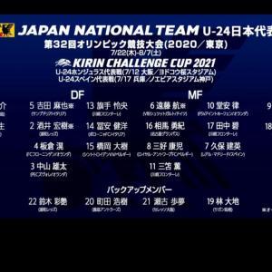 サッカーオリンピック日本代表♡