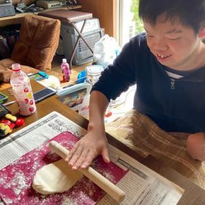 おうち時間:おやつ作り ☆うどん作り☆