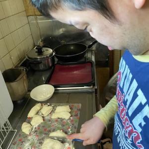おうち時間:塩バターパン作り