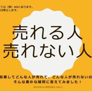 稲垣佳美さんの、売れる人売れない人お茶会。