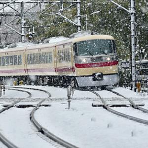 春の雪の日 レッドアロークラッシック 2020.3.29