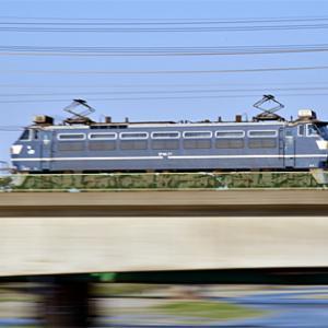 武蔵野貨物線 74レ EF66 27 2020.4.4