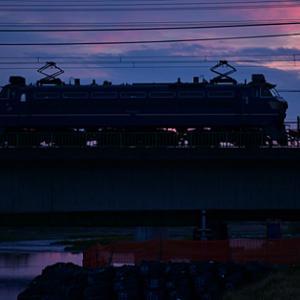 EF66 27 1080レ 武蔵野貨物線 2019.4.14