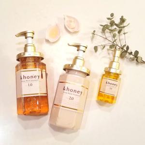 オーガニックと蜂蜜の出会い♡&honey シャンプー/トリートメント/ヘアオイル*
