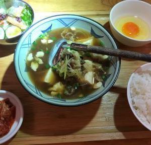 肉力屋  肉豆腐定食