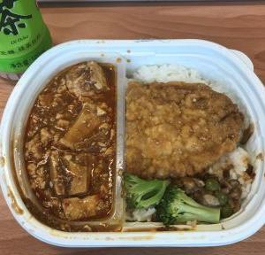 全家  麻婆豆腐炸鶏飯