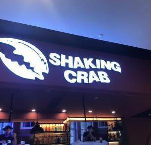 SHAKING CRAB   イカリングサンドイッチ