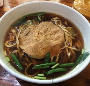 鎮江鍋蓋面  素鶏麺