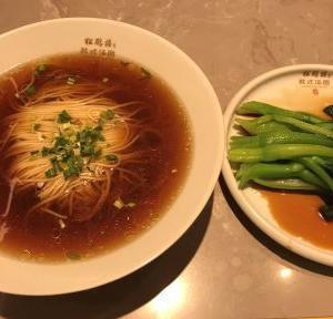 松鶴楼 紅麺&青梗菜