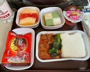 MU5155 上海虹橋 → 北京首都 A321 40L 機内食