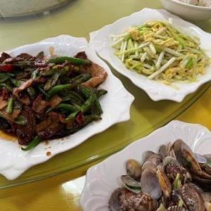 舟山市 洋山石龍景区 老船長飯荘 中華料理